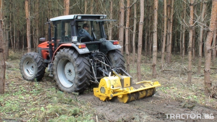 Мулчери MeriCrusher MJ Финландски горски мулчер 1 - Трактор БГ