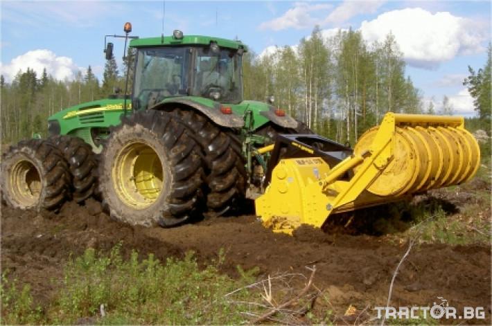 Мулчери MeriCrusher MJ Финландски горски мулчер 2 - Трактор БГ