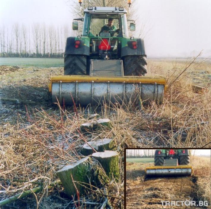 Мулчери MeriCrusher MJ Финландски горски мулчер 4 - Трактор БГ