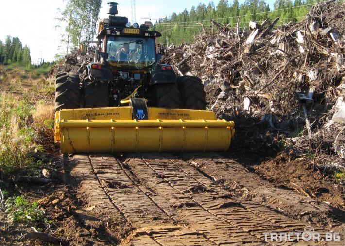 Мулчери MeriCrusher MJ Финландски горски мулчер 5 - Трактор БГ