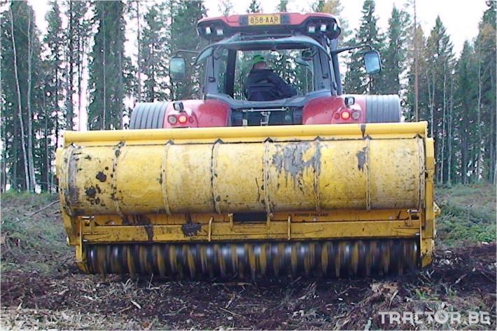 Мулчери MeriCrusher MJ Финландски горски мулчер 7 - Трактор БГ