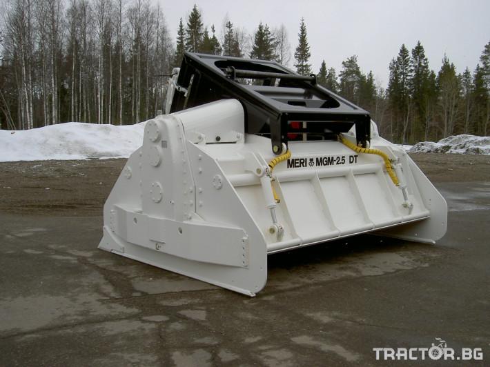 Мулчери MeriCrusher MJ Финландски горски мулчер 36 - Трактор БГ