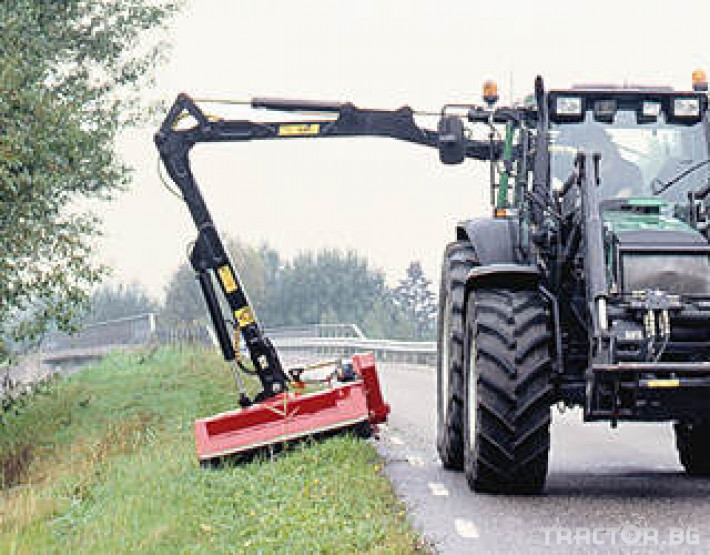 Машини за дърводобив PALMS ремарке за трупи с кран и ротатор 13 - Трактор БГ