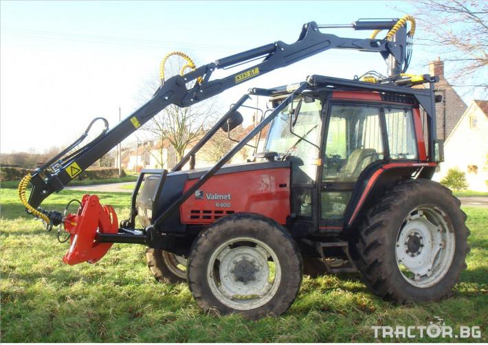 Машини за дърводобив Кран за дърва PALMS за трактор 2 - Трактор БГ