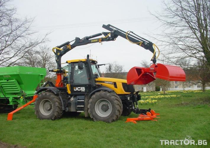 Машини за дърводобив Кран за дърва PALMS за трактор 3 - Трактор БГ