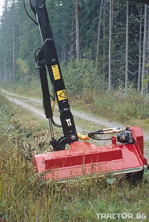Машини за дърводобив Кран за дърва PALMS за трактор 5 - Трактор БГ