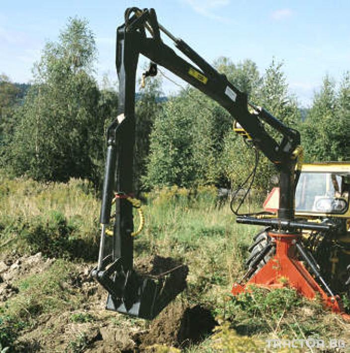 Машини за дърводобив Кран за дърва PALMS за трактор 7 - Трактор БГ