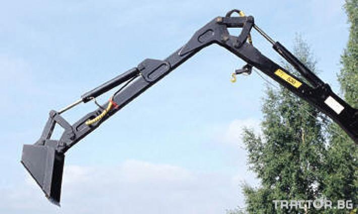 Машини за дърводобив Кран за дърва PALMS за трактор 8 - Трактор БГ