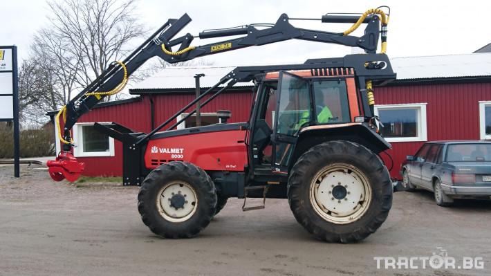 Машини за дърводобив Кран за дърва PALMS за трактор 10 - Трактор БГ