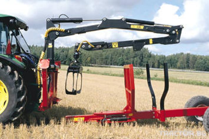 Машини за дърводобив Кран за дърва PALMS за трактор 11 - Трактор БГ