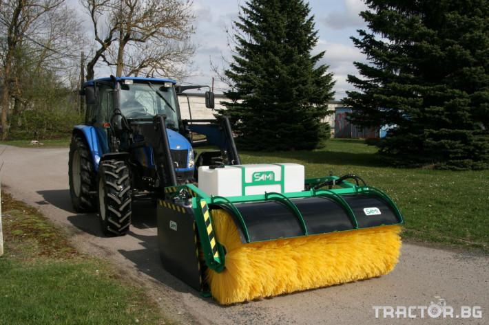 Техника за почистване Снегорин за трактор и камион /DIN плоча 23 - Трактор БГ