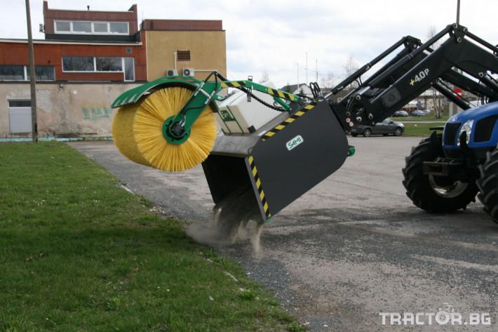 Техника за почистване Снегорин за трактор и камион /DIN плоча 21 - Трактор БГ