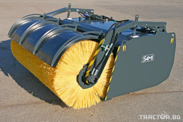 Техника за почистване Снегорин за трактор и камион /DIN плоча 22 - Трактор БГ