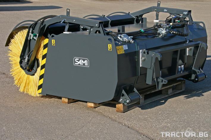 Техника за почистване Снегорин за трактор и камион /DIN плоча 24 - Трактор БГ