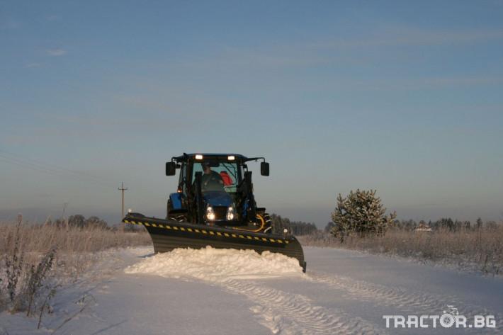 Техника за почистване Снегорин за трактор и камион /DIN плоча 5 - Трактор БГ