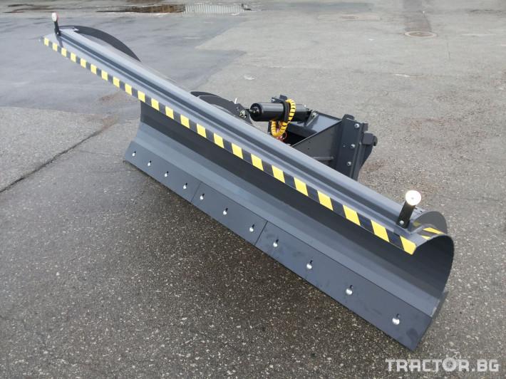 Техника за почистване Снегорин за трактор и камион /DIN плоча 6 - Трактор БГ