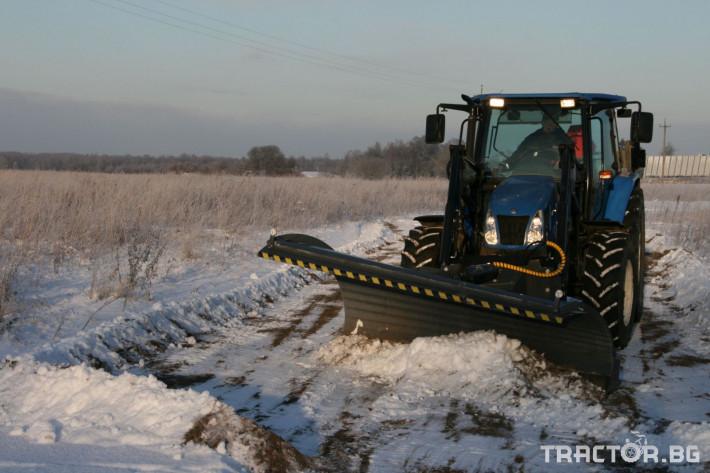 Техника за почистване Снегорин за трактор и камион /DIN плоча 7 - Трактор БГ