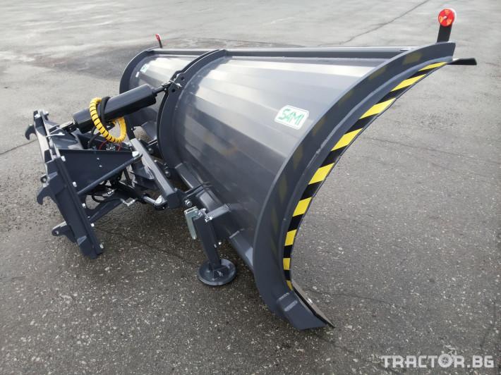 Техника за почистване Снегорин за трактор и камион /DIN плоча 9 - Трактор БГ