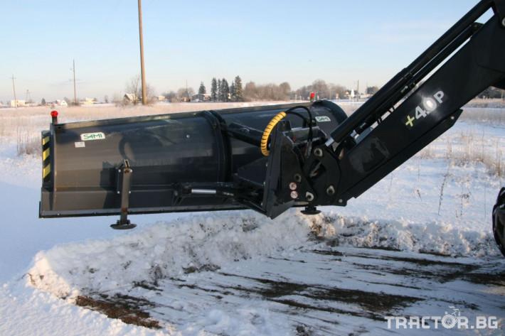 Техника за почистване Снегорин за трактор и камион /DIN плоча 10 - Трактор БГ