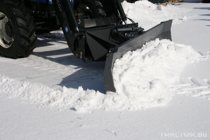 Техника за почистване Снегорин за трактор и камион /DIN плоча 12 - Трактор БГ