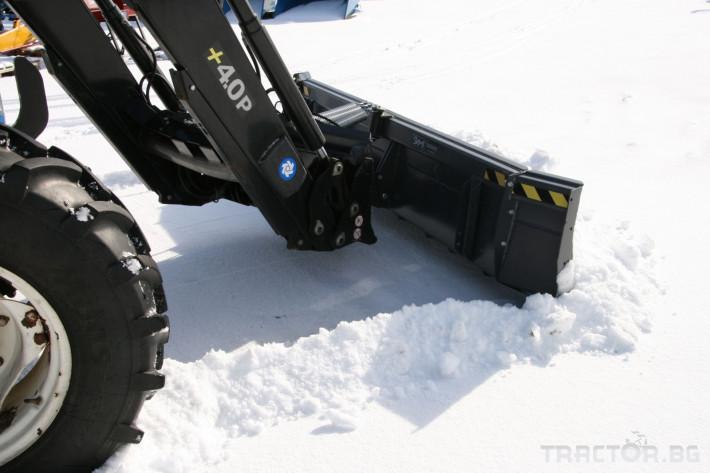 Техника за почистване Снегорин за трактор и камион /DIN плоча 13 - Трактор БГ
