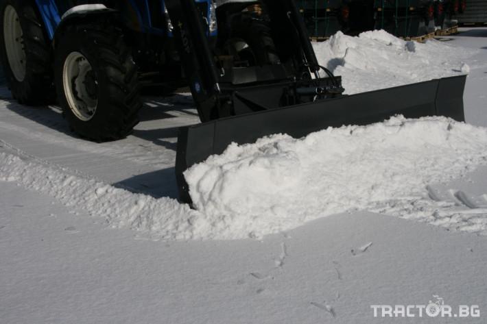 Техника за почистване Снегорин за трактор и камион /DIN плоча 14 - Трактор БГ