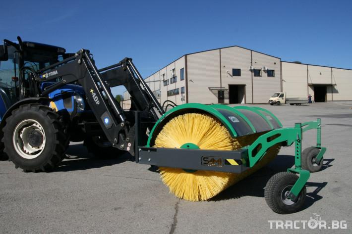 Техника за почистване Снегорин за трактор и камион /DIN плоча 25 - Трактор БГ