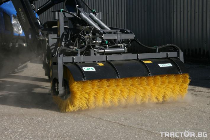 Техника за почистване Снегорин за трактор и камион /DIN плоча 26 - Трактор БГ