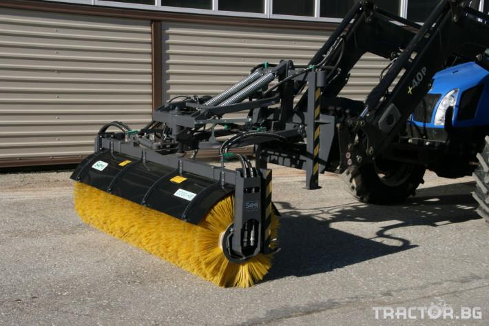 Техника за почистване Снегорин за трактор и камион /DIN плоча 27 - Трактор БГ