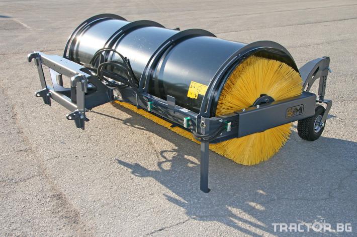 Техника за почистване Снегорин за трактор и камион /DIN плоча 30 - Трактор БГ