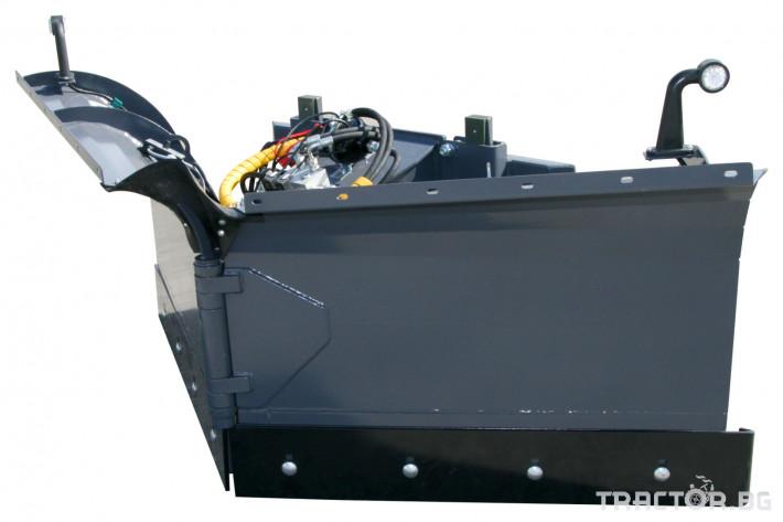 Техника за почистване Снегорин за трактор и камион /DIN плоча 0 - Трактор БГ