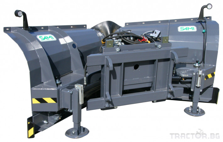 Техника за почистване Снегорин за трактор и камион /DIN плоча 11 - Трактор БГ