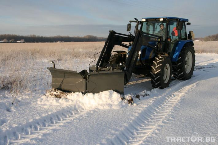 Техника за почистване Снегорин за трактор и камион /DIN плоча 19 - Трактор БГ