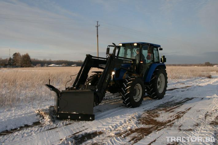 Техника за почистване Снегорин за трактор и камион /DIN плоча 18 - Трактор БГ