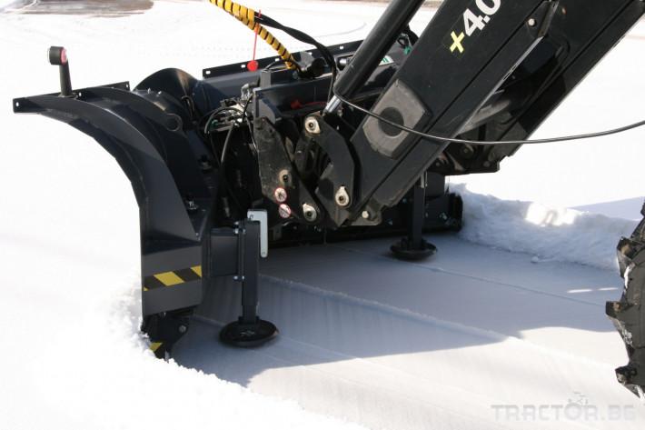 Техника за почистване Снегорин за трактор и камион /DIN плоча 20 - Трактор БГ