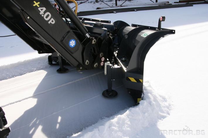Техника за почистване Снегорин за трактор и камион /DIN плоча 17 - Трактор БГ