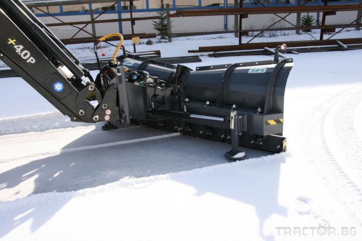 Техника за почистване Снегорин за трактор и камион /DIN плоча 16 - Трактор БГ