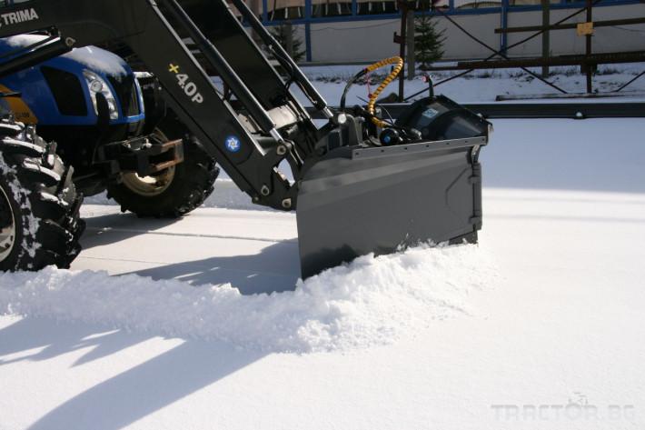 Техника за почистване Снегорин за трактор и камион /DIN плоча 31 - Трактор БГ