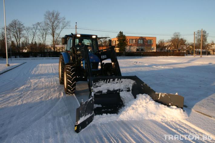 Техника за почистване Снегорин за трактор и камион /DIN плоча 2 - Трактор БГ