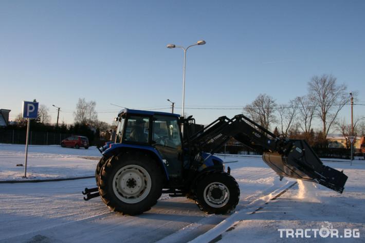 Техника за почистване Снегорин за трактор и камион /DIN плоча 33 - Трактор БГ