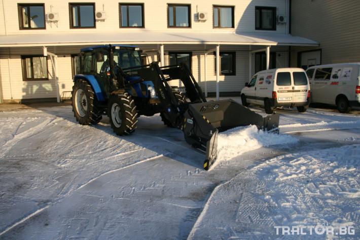 Техника за почистване Снегорин за трактор и камион /DIN плоча 8 - Трактор БГ