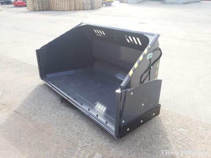 Техника за почистване Снегорин за трактор и камион /DIN плоча 35 - Трактор БГ