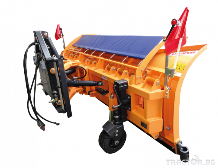Техника за почистване Снегорин за трактор и камион /DIN плоча 29 - Трактор БГ