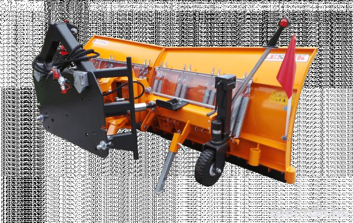 Техника за почистване Снегорин за трактор и камион /DIN плоча 1 - Трактор БГ