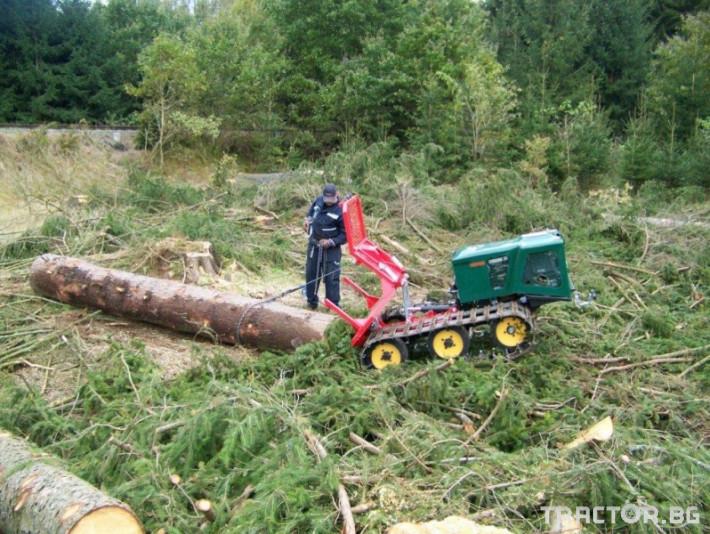 Машини за дърводобив Горски трактор за извоз на дървесина MK18 железен кон 3