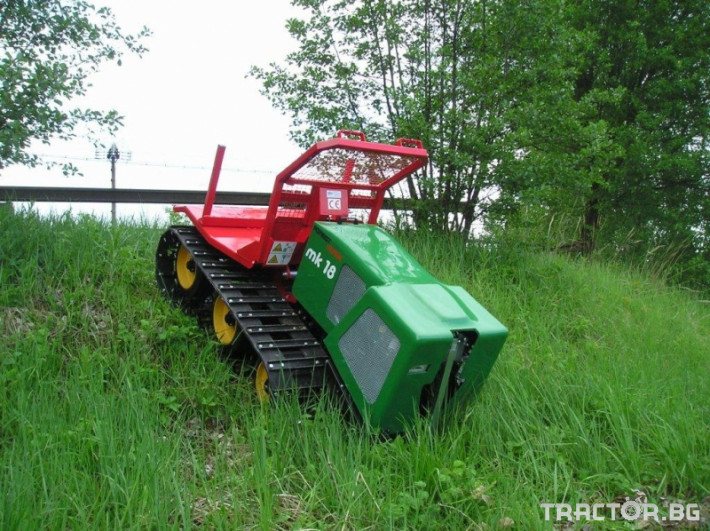 Машини за дърводобив Горски трактор за извоз на дървесина MK18 железен кон 4