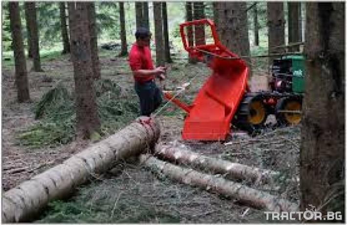 Машини за дърводобив Горски трактор за извоз на дървесина MK18 железен кон 6