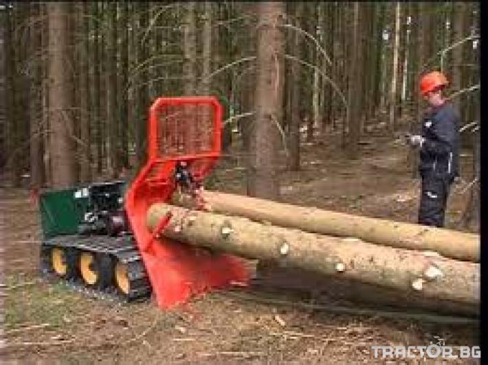 Машини за дърводобив Горски трактор за извоз на дървесина MK18 железен кон 7