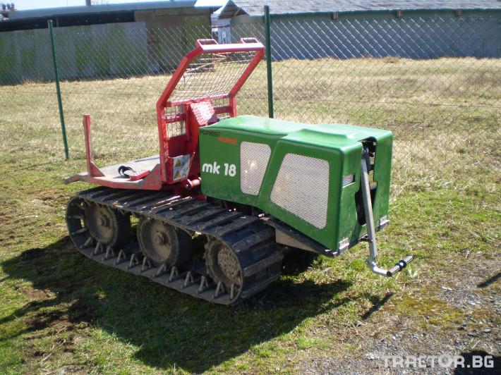 Машини за дърводобив Горски трактор за извоз на дървесина MK18 железен кон 2