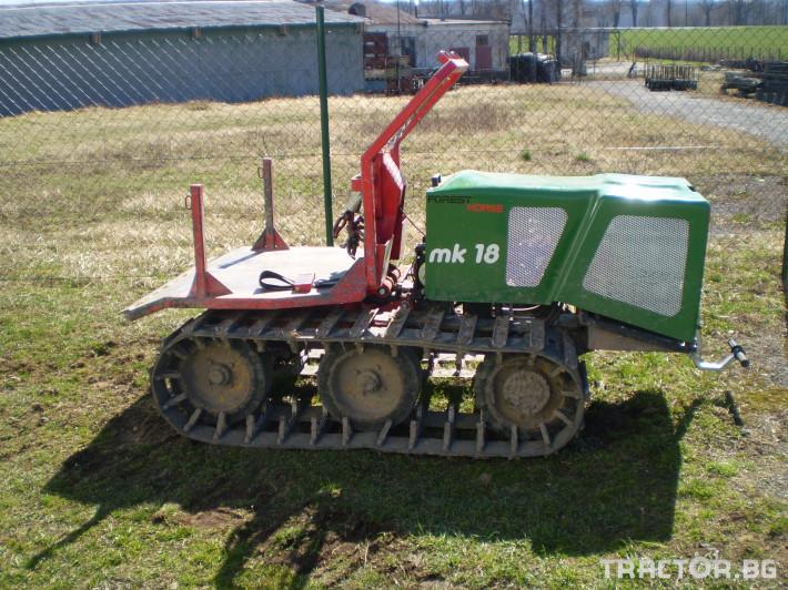 Машини за дърводобив Горски трактор за извоз на дървесина MK18 железен кон 9